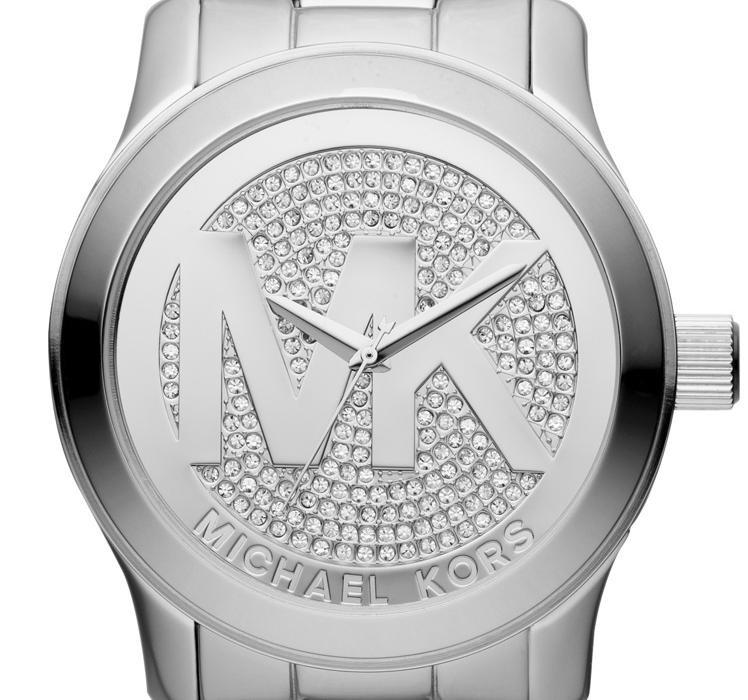 mk5544 michael kors jet set runway big logo horloge. Black Bedroom Furniture Sets. Home Design Ideas