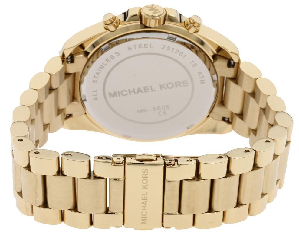 MK5605 Bradshaw Gold Michael Kors Horloge €149 | Dames Goud